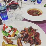 lamb ribs and oxtail soup