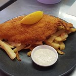 Seen and had some fantastic food at fish bone grill. Would eat there again with my family