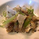Makreel met bloemkool, gerookt