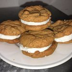 Peanut Butter Whoopi Cookie