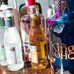 A selection of speciality Gins on offer