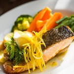 A speciality fresh Fish of the day on offer from 11:30am