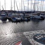 The Marina of Horta Foto