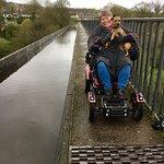 Telford's wheelchair friendly aquaduct!