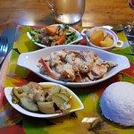 Crevettes à la liqueur de niaouli