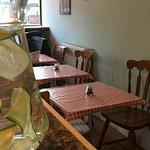 Inside Yew Cafe
