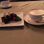 Jag's chocolate torte with cappuccino