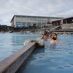 米湖天然浴場照片