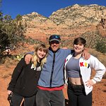 Me, Jared, and my sister on a great morning hike filled with spiritual knowledge and self discov
