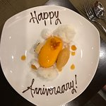 Happy Anniversary desert