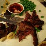 8oz of Charcoal dry rump steak
