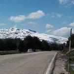 Vista desde el Puerto de la Morcuera, dirección Rascafría.