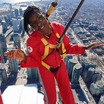 Photo de Edge Walk at the CN Tower