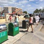 Salida del Paseo del Arenal en Xàbia hacia el Puerto