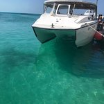 Isla Contoy-clear, teal waters....