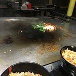Salmon on grill
