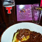 Tatties and mince and a pint for lunch