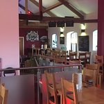 A nice restaurant with a good choice of food and a relaxed atmosphere!