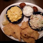 1/2 lb. Red River Catfish Dinner
