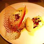Nougat glacé pistache noisettes