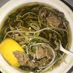 Greasy pho soup