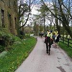 Trekking across the Warrensgrove Estate