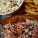 Lobster roll dinner