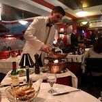 Amazing chef/server Michael