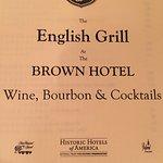 English Grill resmi