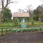 Master gardeners cottage at the Glenveagh Castle and gardens