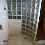 Great shower, room 35