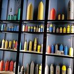 Ook bommen hadden kleurcodes om snel te herkennen