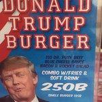 Interresting burger on offer