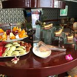 Free afternoon tea in Executive Lounge