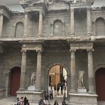at Pergamon museumn (under renovation currently) but you can visit
