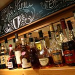 Plenty of whiskies to choose from!