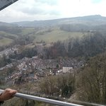 Good views. Too soon to finish. Can see the Matlock Bath