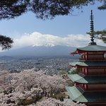 ภาพถ่ายของ Chureito Pagoda
