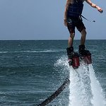 Flyboarding at Reggae Beach