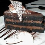 The famous Tribeca Chocolate Torte