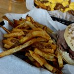 Beef on Weck with Fresh Fries