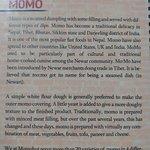 Interesting intro on momos