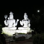 Shiv Parvarti view at night, beautifully lit!