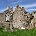 Some ruins on the grounds of the Holy Trinity Church of Ireland, Fethard