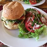 Double cheese burger au fromage d'Antsirabe