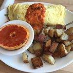 BLT omelette.