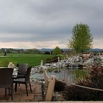 Nice Patio View even on a cloudy day