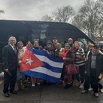 Cubanos en new york gracias interviajesny y nuestro guia Francisco