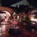 Entrance at Las Antorchas Restaurant