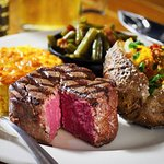 Nothing more classic than steak and potatoes